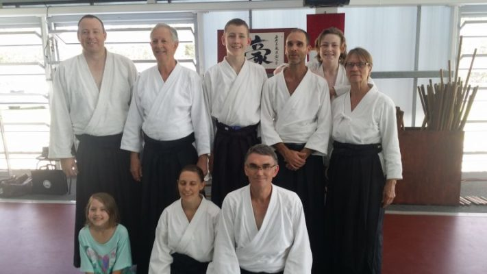 Michael William Sensei with Tweed Heads Seniors and Instructors.